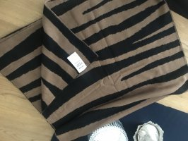 Opus Knitted Scarf black-brown