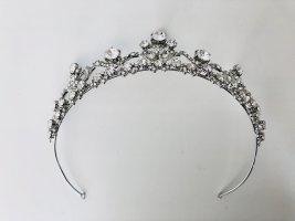 Davids Bridal Hair Accessory silver-colored-white