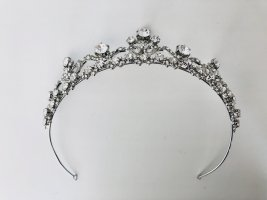 Davids Bridal Ozdoby do włosów srebrny-biały