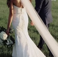 Ilse Wedding Dress white