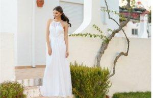 Brautkleid mit Spitze 38