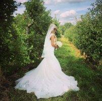 Brautkleid + Schleier