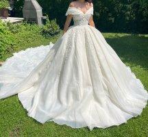 Pierre Cardin Abito da sposa multicolore Tessuto misto