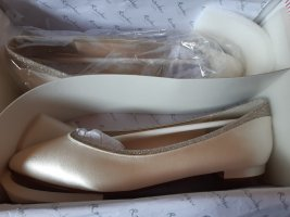 Brautschuh Ballerina Ivory Rainbow Stevie