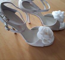 David Braun High Heels white