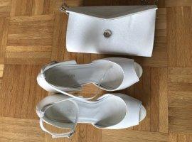 Brautschuhe + Clutch zu verkaufen