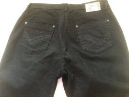 Brax Spodnie z pięcioma kieszeniami czarny Bawełna