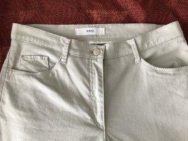 Brax Straight Leg Jeans oatmeal cotton