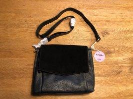 Bree Crossbody bag black-light brown leather