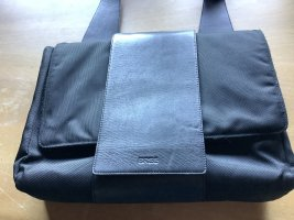 Bree Laptop bag black leather