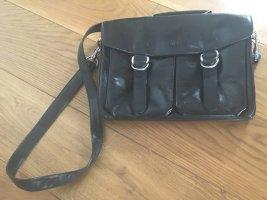 Bree Lederhandtasche Crossbody schwarz wie neu