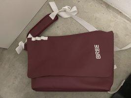 Bree Sac bandoulière rouge carmin-blanc polyester