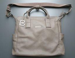 Bree Briefcase beige-grey brown leather
