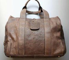 Bree Weekender Bag taupe leather