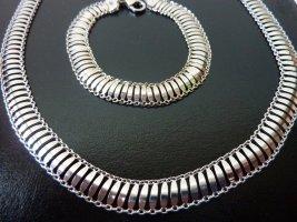 breite Gliederkette Armband Schmuckset Harry Evans unisex Schmuck silber Statementkette Geschenke für Sie
