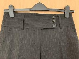 BCBGMAXAZRIA Spodnie materiałowe czarno-brązowy