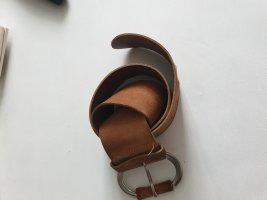 United Colors of Benetton Leather Belt light brown