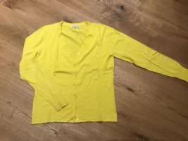 Brigitte von Boch Giacca in maglia giallo pallido Cotone