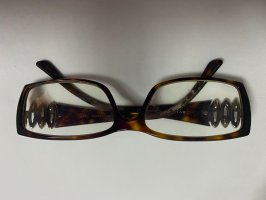 Bulgari Glasses cognac-coloured-dark brown