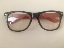 Bril zwart bruin-roodbruin