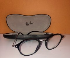 Ray Ban Glasses black-silver-colored