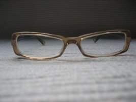 Armani Zonnebril goud-zandig bruin
