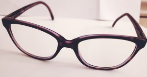 Fielmann Glasses brown-purple acetate