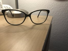 100% Fashion Glasses black-cream