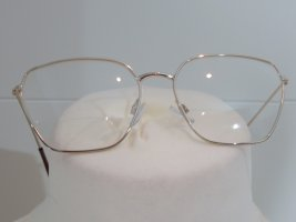 Zara Glasses sand brown metal