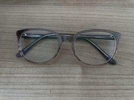 Brille mit Premium Gläser wie neu Verlauf braun