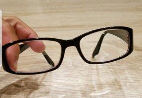 Bril zwart-donkerpaars