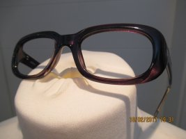 DKNY Glasses dark brown synthetic material