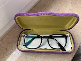 Gucci Glasses black-silver-colored