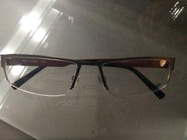 Joop! Gafas gris-rojo amarronado metal