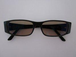 Emporio Armani Hoekige zonnebril zwart kunststof