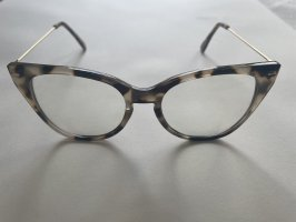 Zara Glasses beige-light brown