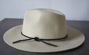 Brixton Chapeau en feutre beige clair laine