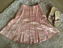 Turnover Spódnica midi jasny różowy