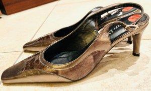 Bronzefarbene Leder Pumps/ high heels - NEU- v Van Dal EU 38,5/ UK 5,5