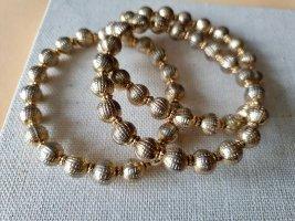 Bronzefarbene Perlen Armbänder Boho Schmuck