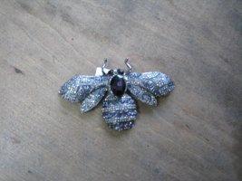 Sweet Deluxe Spilla blu scuro-grigio chiaro