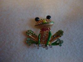 Brosche Frosch