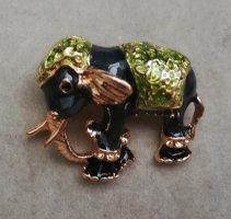Brosche indischer Elefant