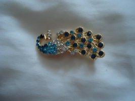 Broche bleuet