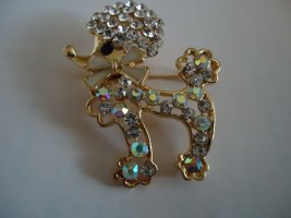 Brooch gold-colored