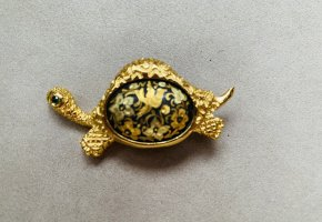 Brosche Schildkröte