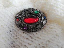 Original Vintage Brooch multicolored