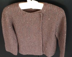 Brunello Cucinelli Coarse Knitted Jacket multicolored cashmere
