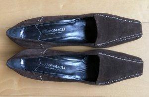 Bruno Magli Zapatos Informales marrón oscuro Cuero