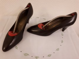 BRUNO MAGLI, Spitz-Pumps NEU, eleganter Stil, braun,  Vintage-Look, Gr. 41
